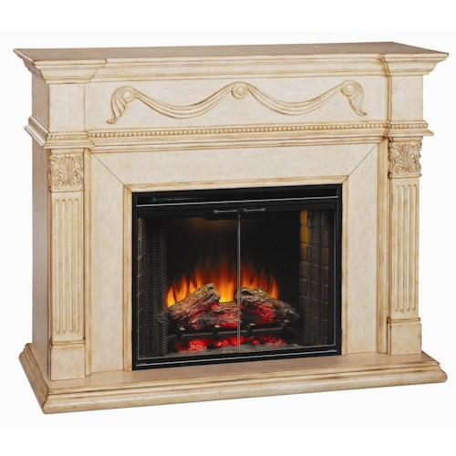 ClassicFlame Gossamer Electric Fireplace