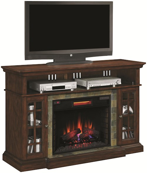 ClassicFlame Lakeland Media Mantel Electric Fireplace