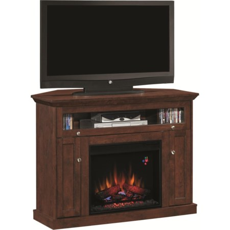 Media Fireplace Mantel