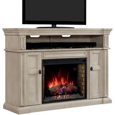 Fireplace TV Console Mantel & Insert