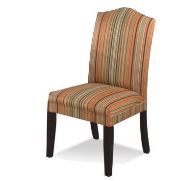 CMI Bentley Upholstered Camel Back Side Dining Chair   Hudsonu0027s Furniture    Dining Side Chair