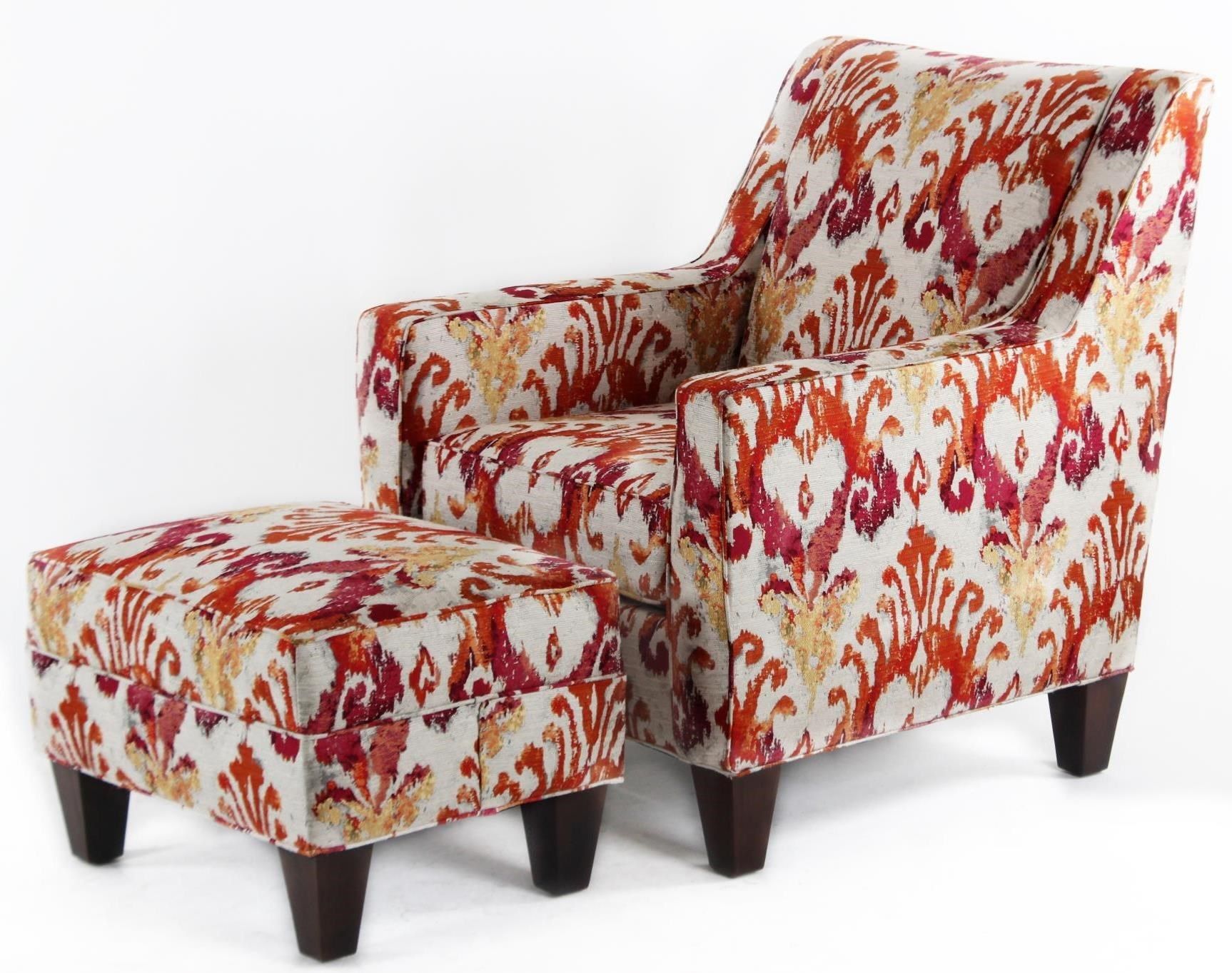 Charming CMI Classic Chair Accents Casual Chair And Ottoman Set   Hudsonu0027s Furniture    Chair U0026 Ottoman Sets