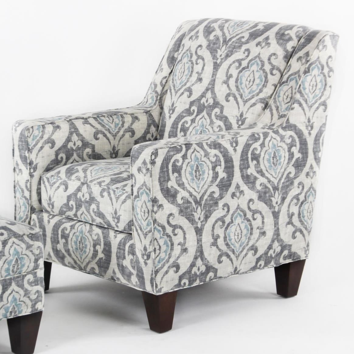 CMI Classic Chair Accents Casual Club Chair With Track Arms   Hudsonu0027s  Furniture   Upholstered Chairs