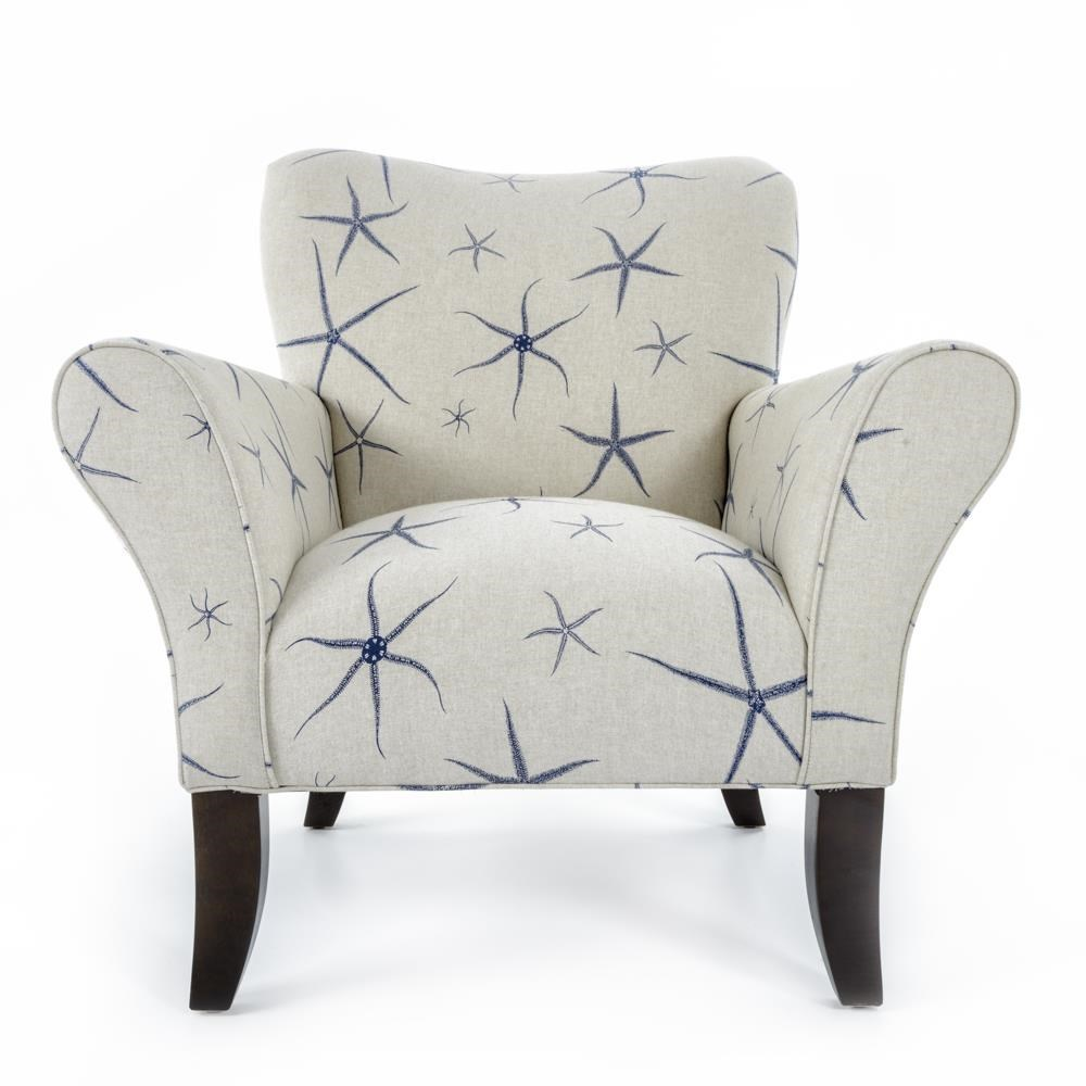 CMI Classic Chair Accents Curved Leg Accent Chair