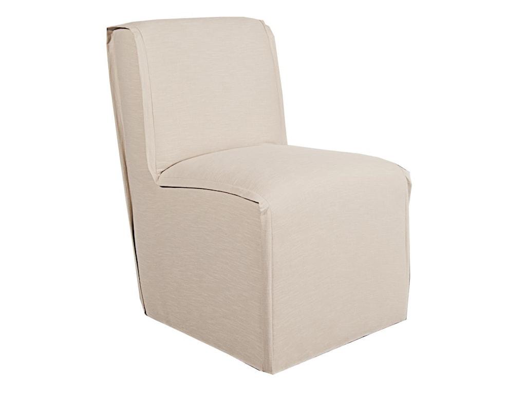 CMI FloraFlora Caster Parsons Chair
