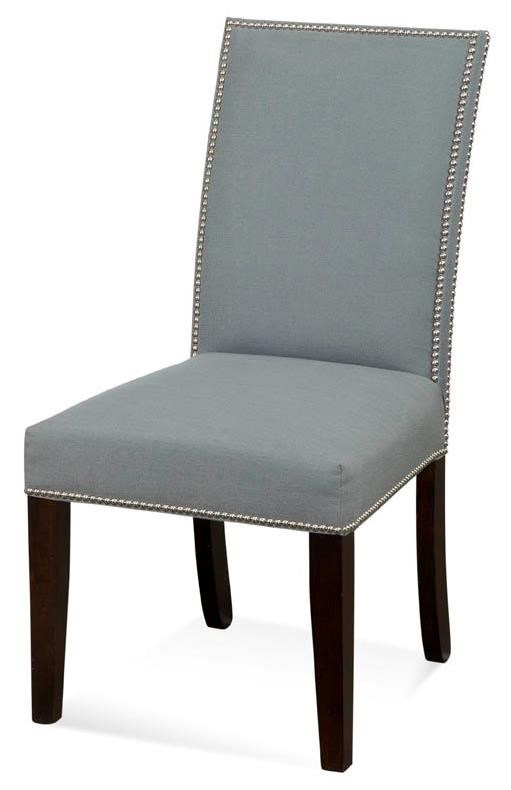 CMI Parson Chairs Upholstered Parson Chair With Nailhead Trim