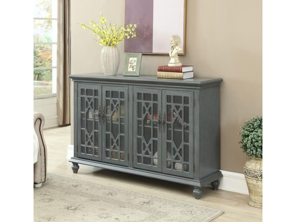 Coast to Coast Furnishings 1027Four Door Credenza