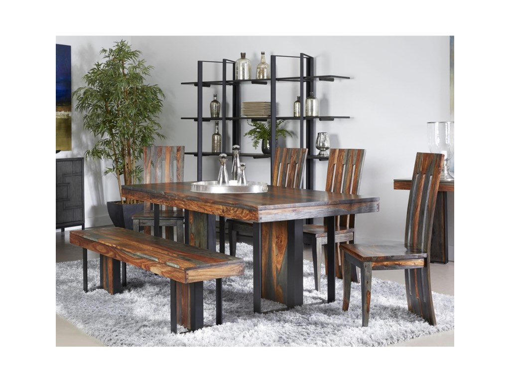Coast to Coast Imports 37110Table and Chair Set with Bench