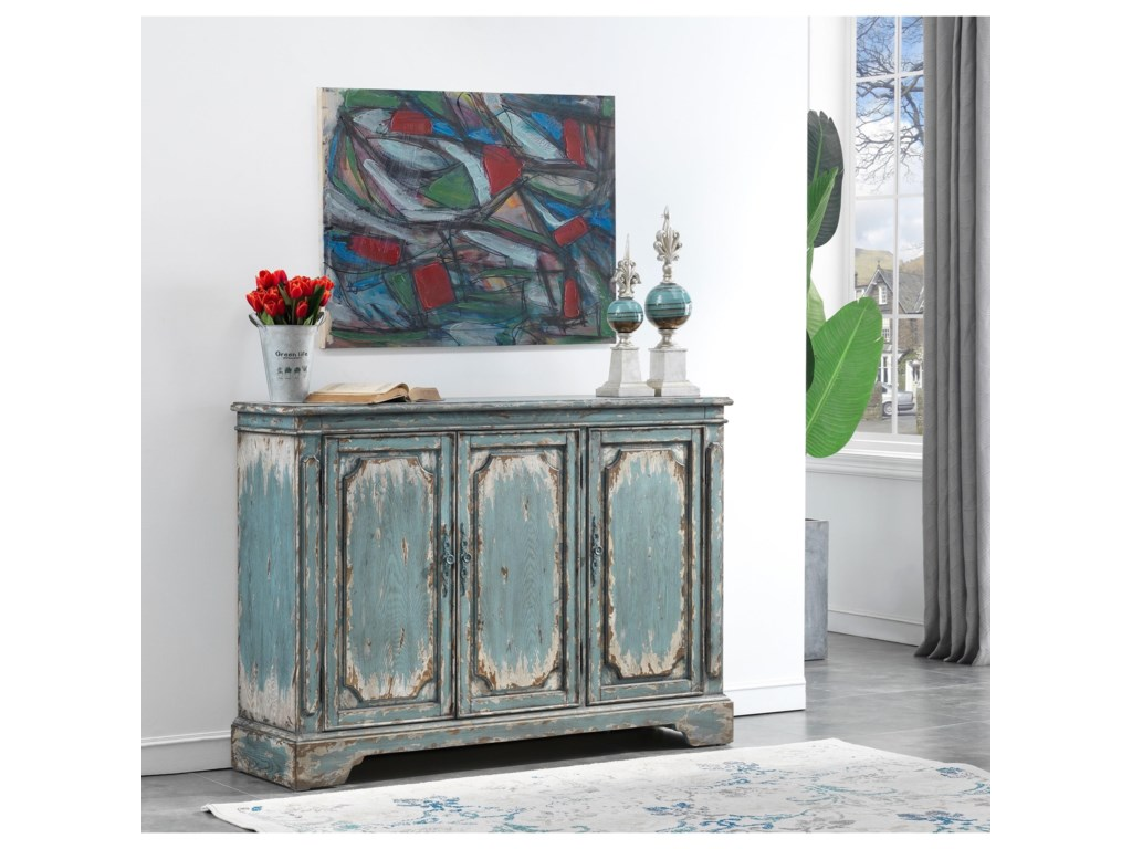 Coast to Coast Imports 40203-Door Media Credenza
