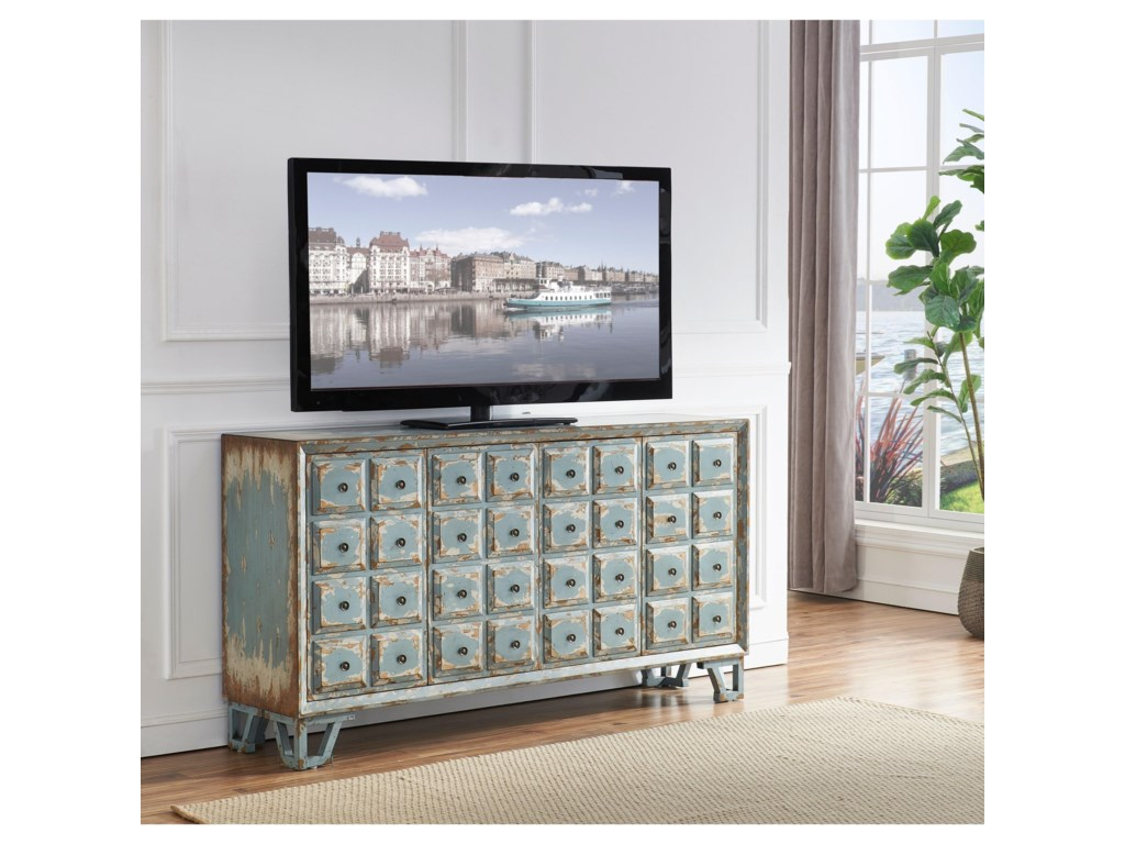 Coast to Coast Imports 40204-Door Media Credenza