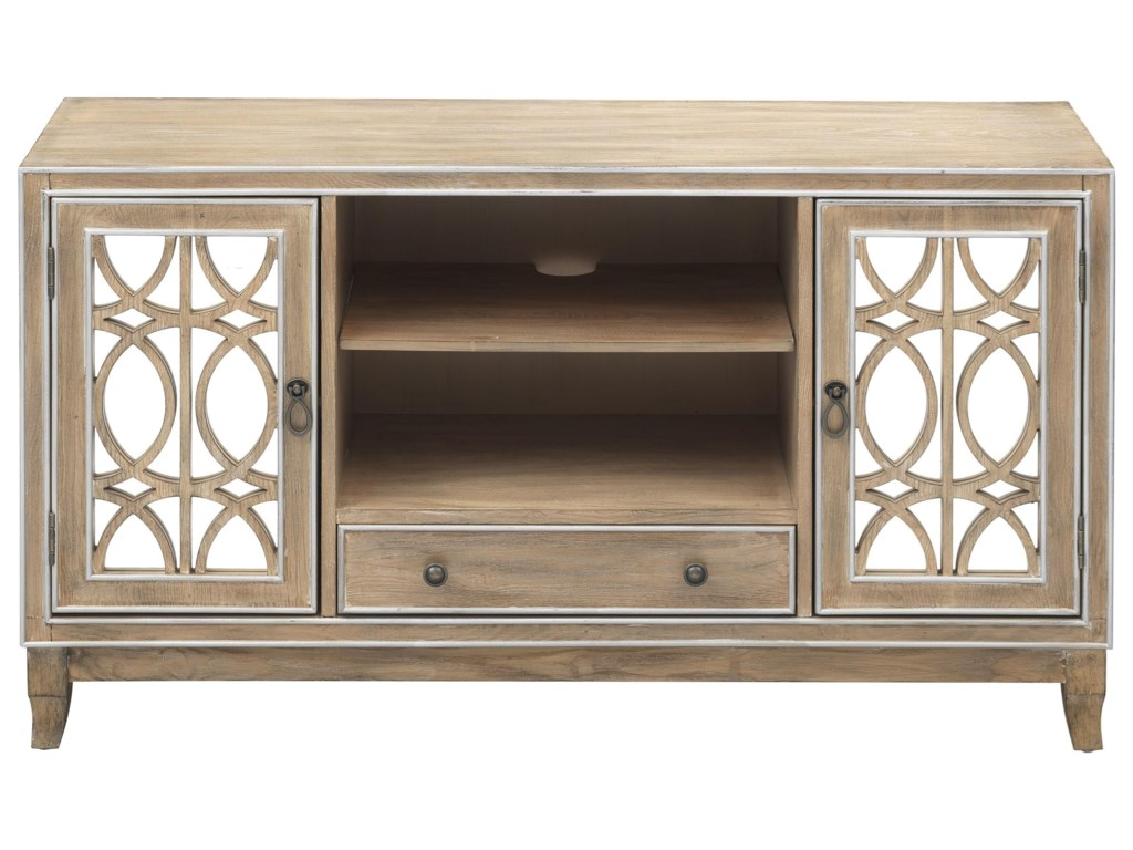 Coast to Coast Imports 402202-Door 1-Drawer Media Credenza