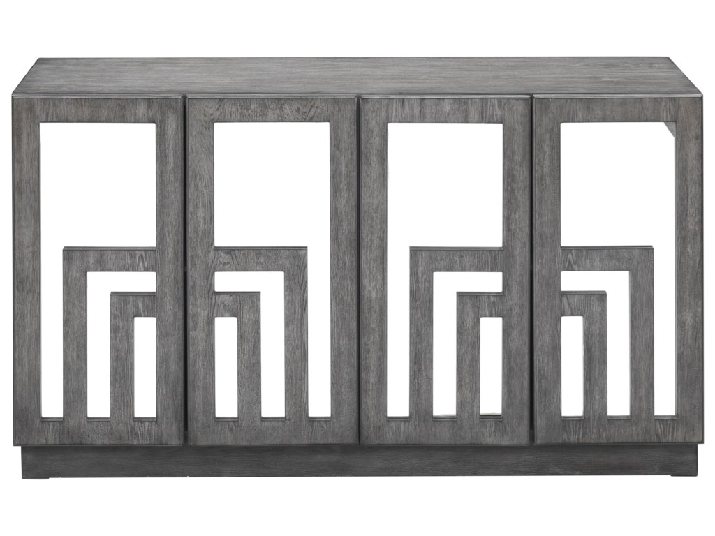 Coast to Coast Imports 402294-Door Media Credenza