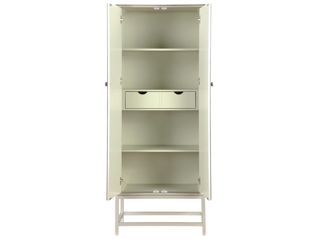 Coast to Coast Imports 402702-Door Wine Cabinet