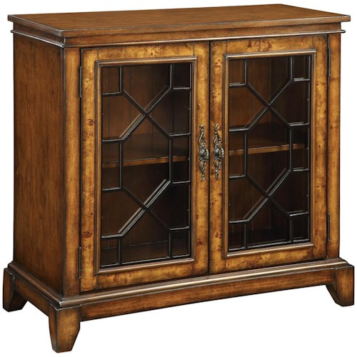 Coast to Coast Imports Accents by Andy Stein 2 Door Cabinet