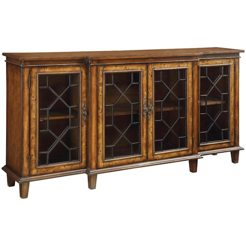 Coast to Coast Imports Accents by Andy Stein 4 Door Credenza