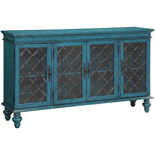 Coast to Coast Imports Accents by Andy Stein Four Door Media Credenza