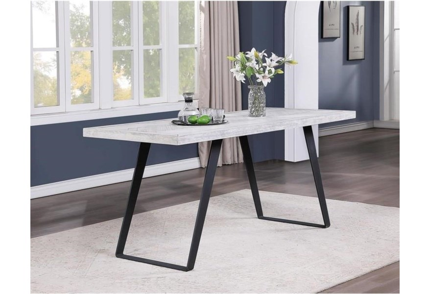 Coast To Coast Imports Aspen Court Ii 48199 Contemporary Counter Height Dining Table Baer S Furniture Pub Tables