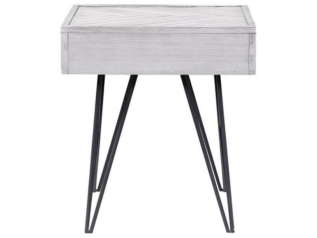 Coast to Coast Imports Aspen Court IIOne Drawer End Table