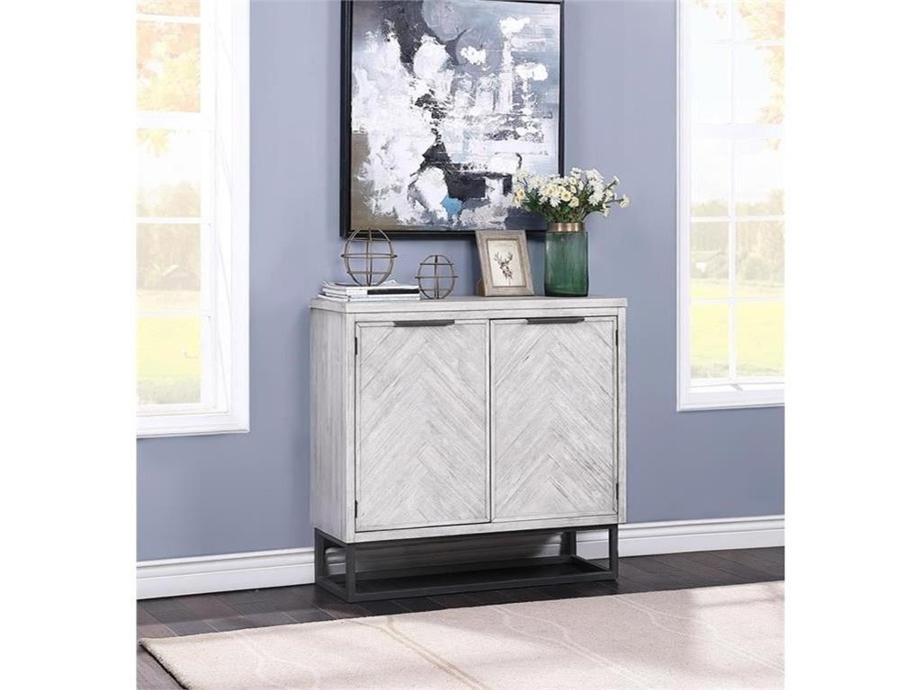 Coast to Coast Imports Aspen Court IITwo Door Cabinet
