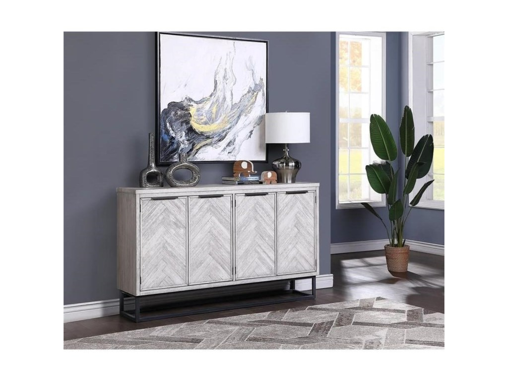 Coast to Coast Imports Aspen Court IIFour Door Media Credenza