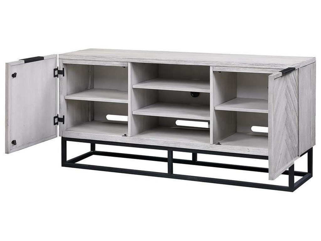 Coast to Coast Imports Aspen Court IITwo Door Media Console