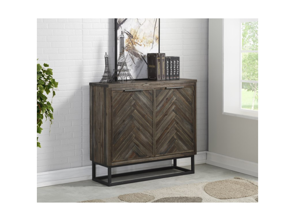 Coast to Coast Imports Aspen CourtTwo Door Cabinet
