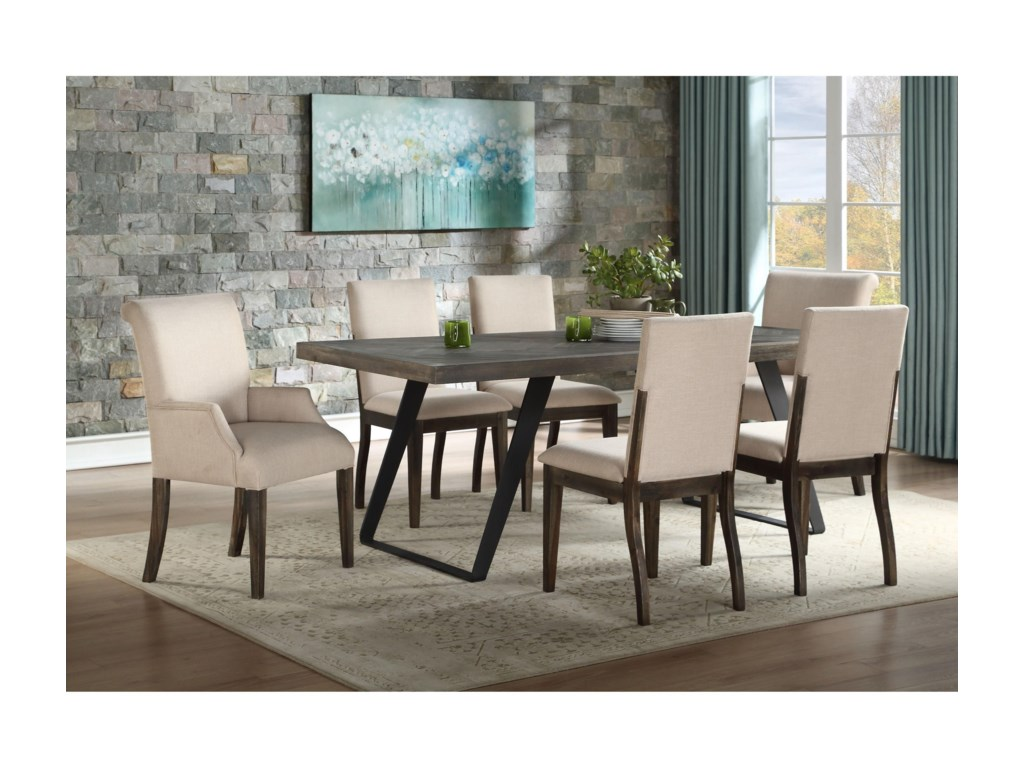 Coast to Coast Imports Aspen CourtDining Arm Chair 2-Pack