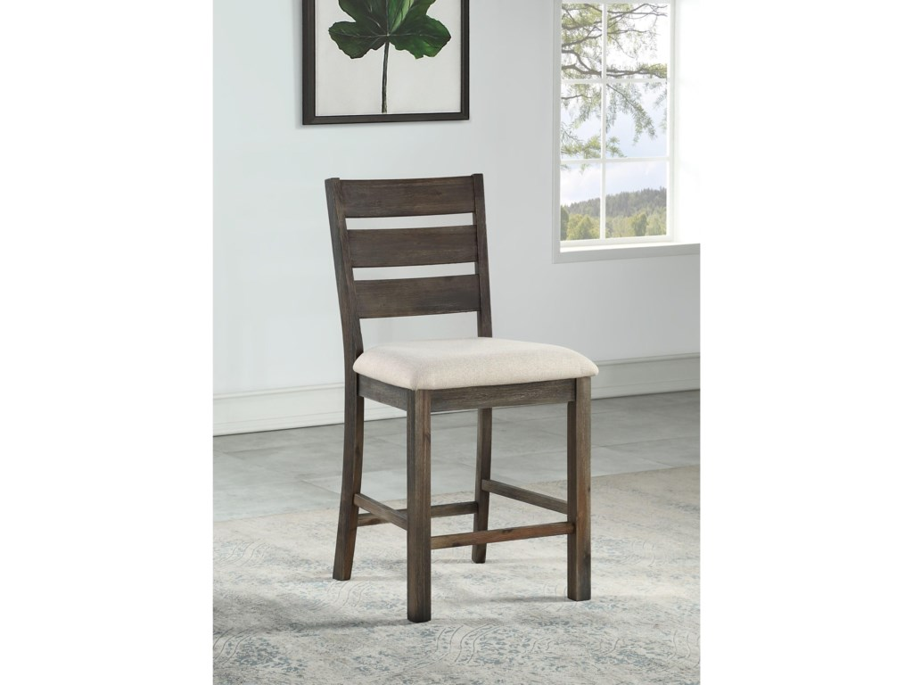 Coast to Coast Imports Aspen CourtCounter Height Dining Chair 2-Pack