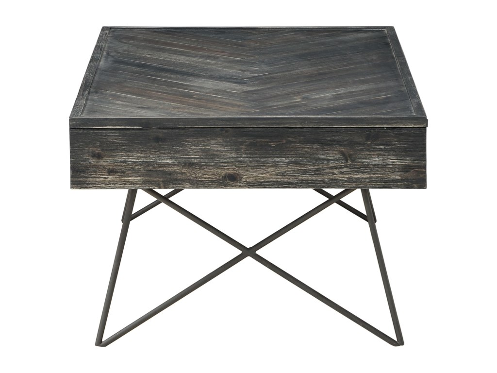 Coast to Coast Imports Aspen Court2-Drawer Cocktail Table