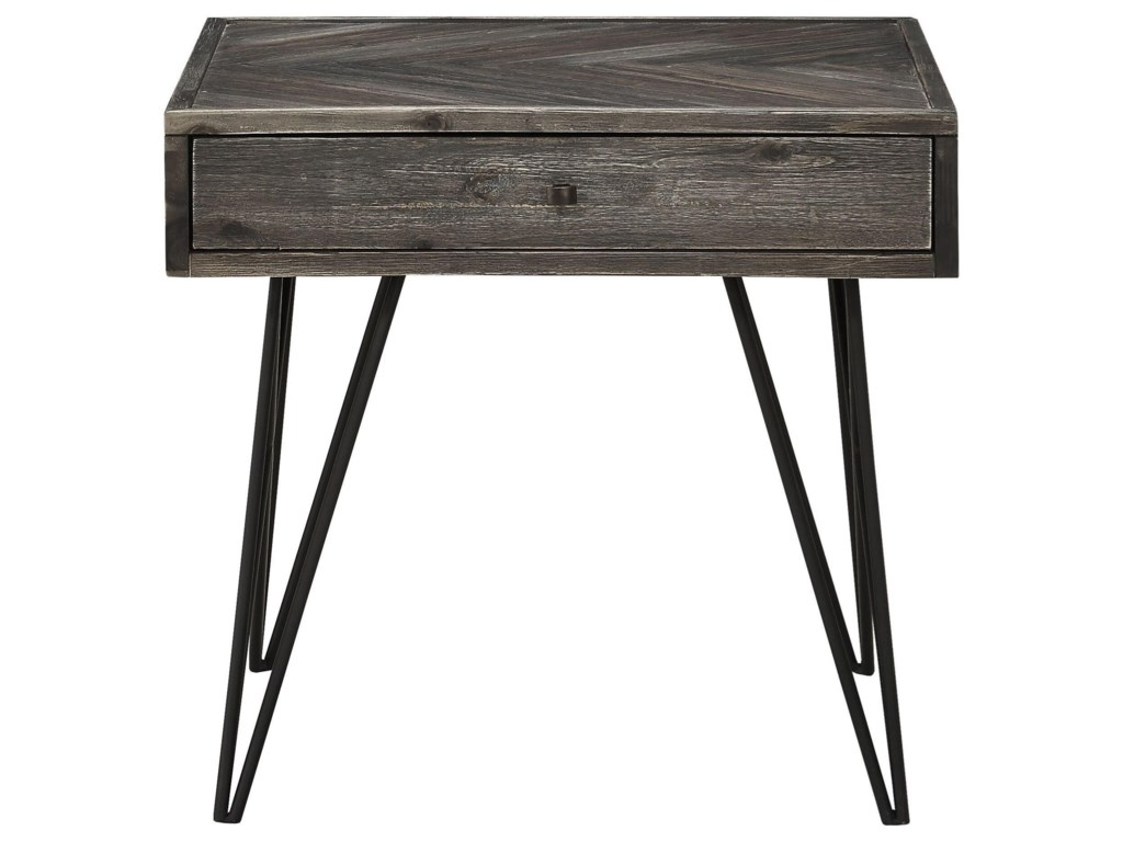 Coast to Coast Imports Aspen Court1-Drawer End Table