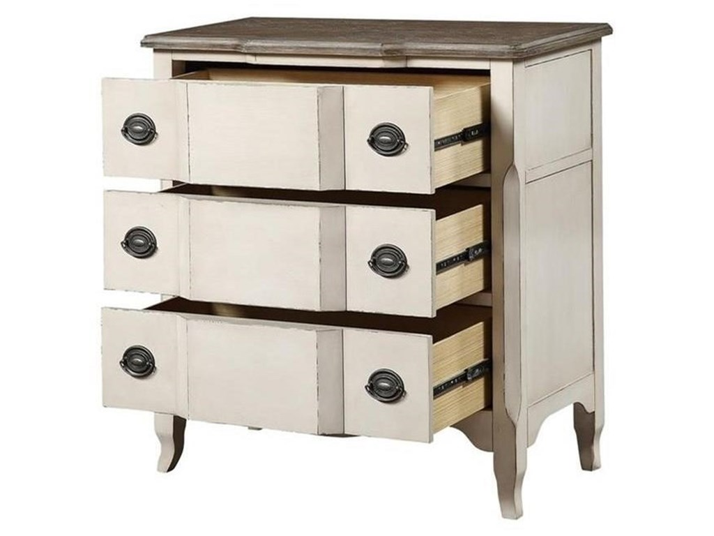 Coast to Coast Imports Bar Harbor IIThree Drawer Chest
