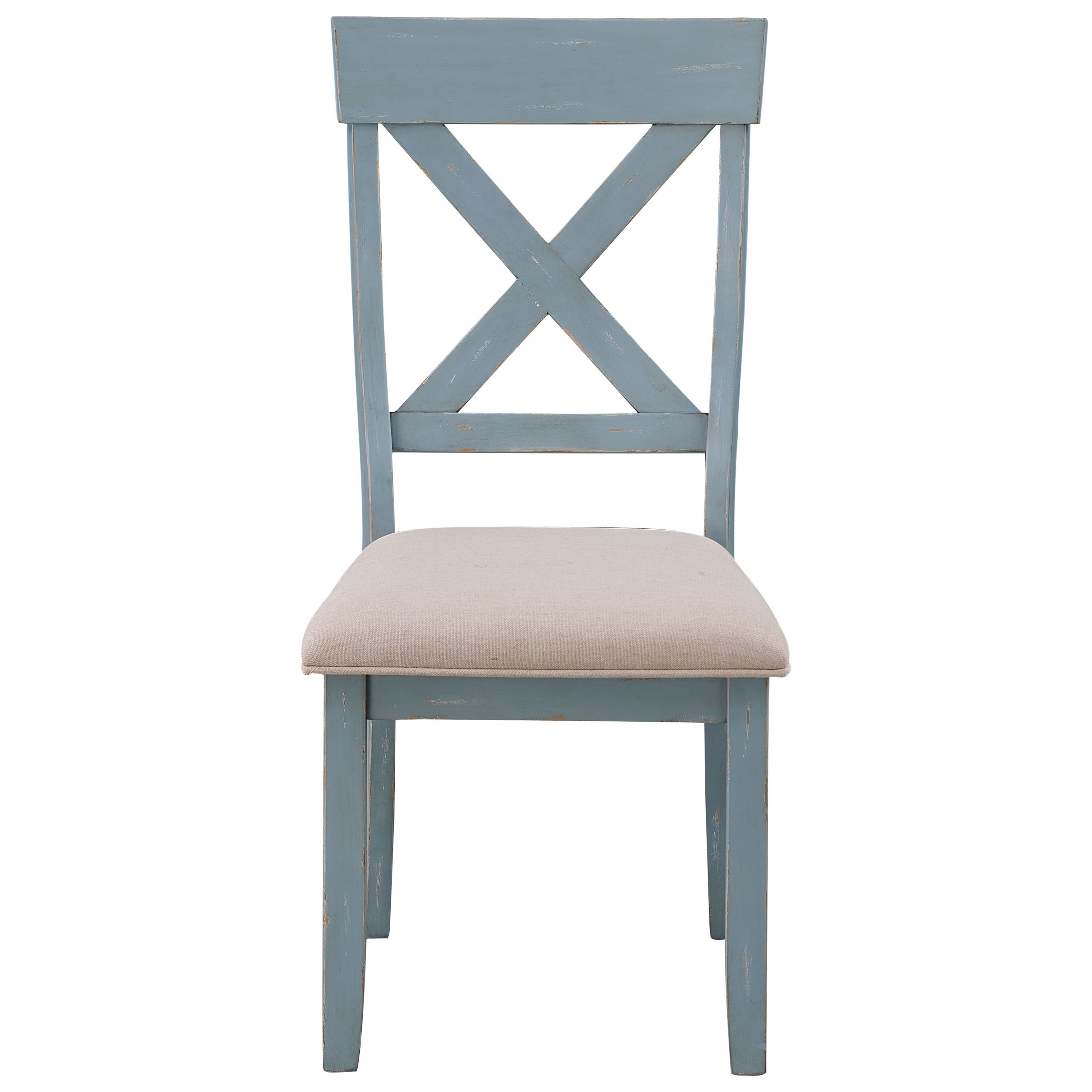 Dining Chair with Upholstered Seat