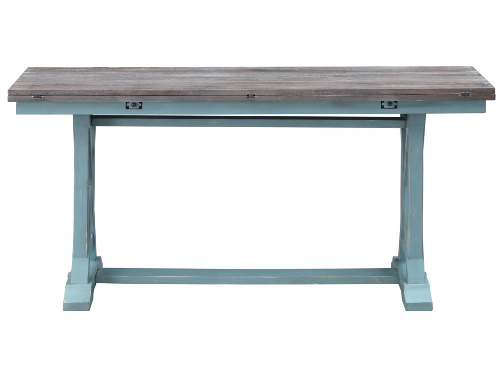 Coast to Coast Imports Bar HarborFold Out Console Table