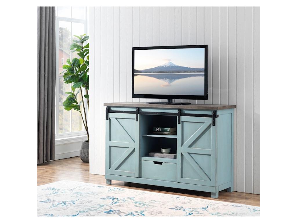 Coast to Coast Imports Bar Harbor2-Door, 1-Drawer Credenza