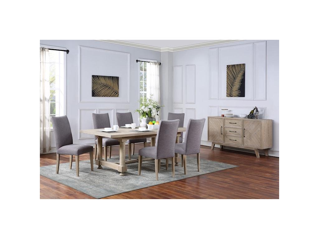 Coast to Coast Imports BarristerRectangular Dining Table