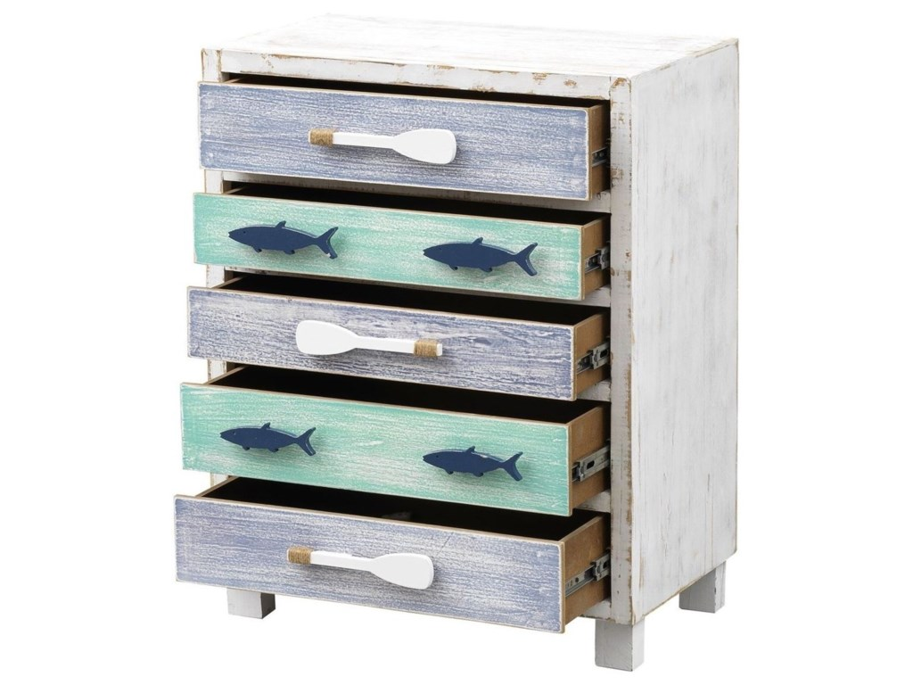 Coast to Coast Imports Pieces in Paradise5-Drawer Chest