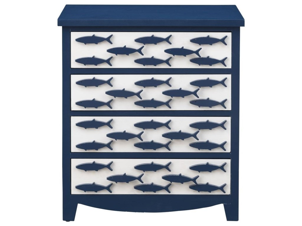 Coast to Coast Imports Pieces in Paradise4-Drawer Chest