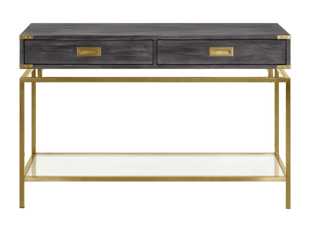 Coast to Coast Imports Beacon HillTwo Drawer Console Table