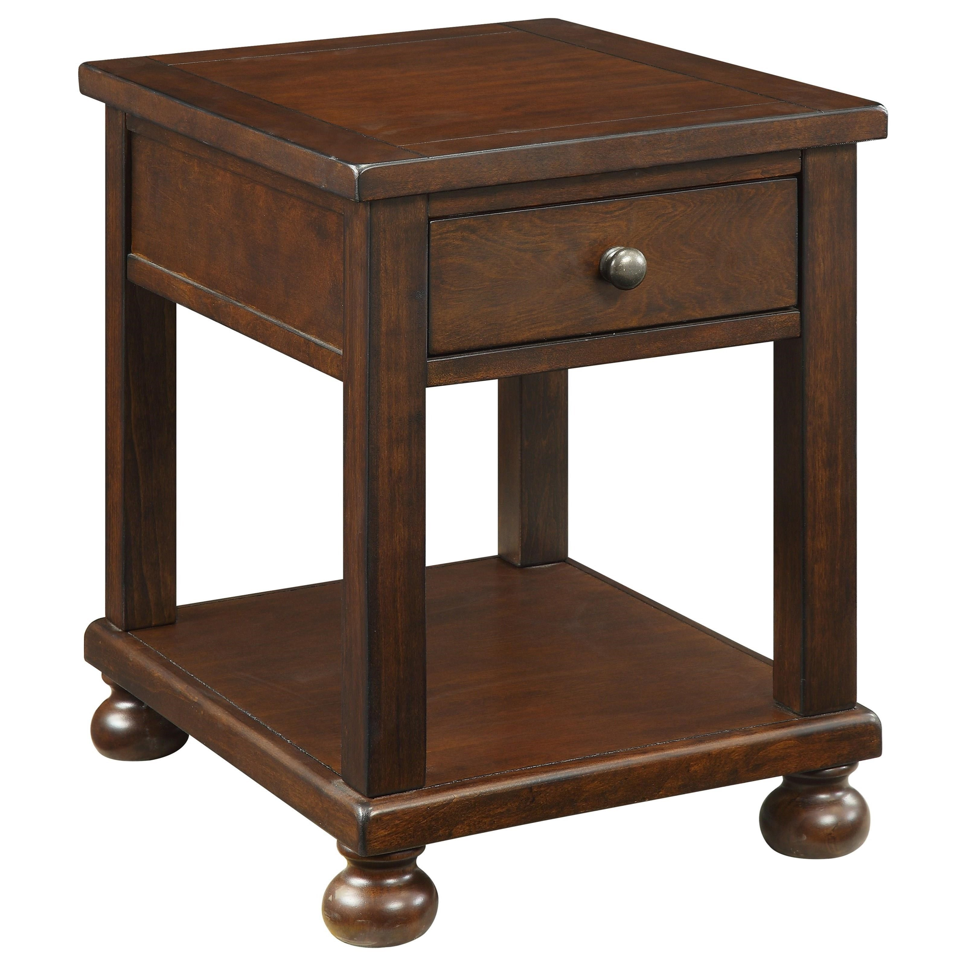 Coast To Coast Imports BelmontBelmont One Drawer End Table ...