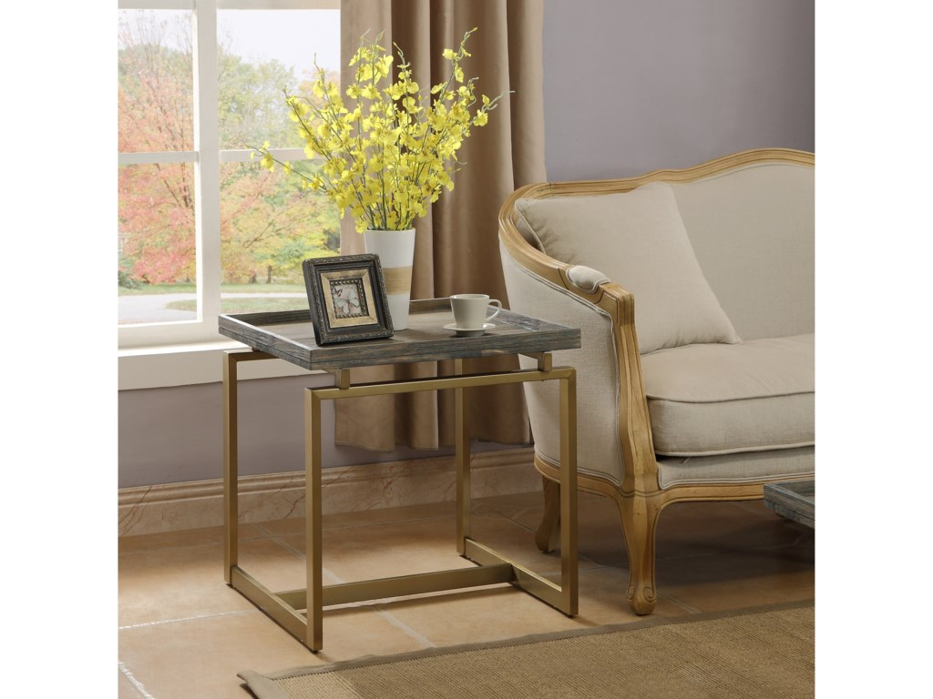 Coast to Coast Imports BiscayneEnd Table