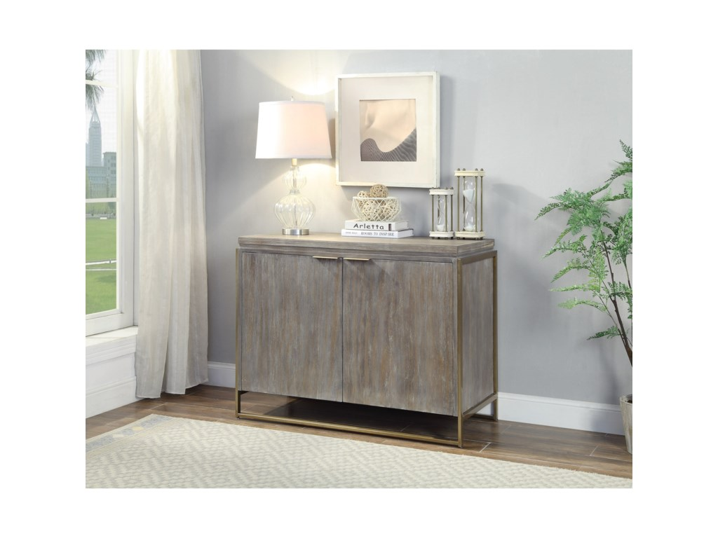 Coast to Coast Imports BiscayneTwo Door Cabinet