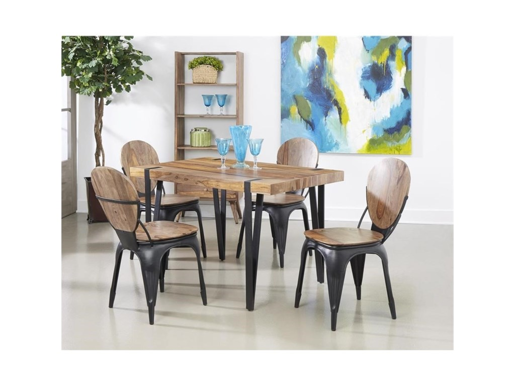 Coast to Coast Imports Bradford5-Piece Dining Set