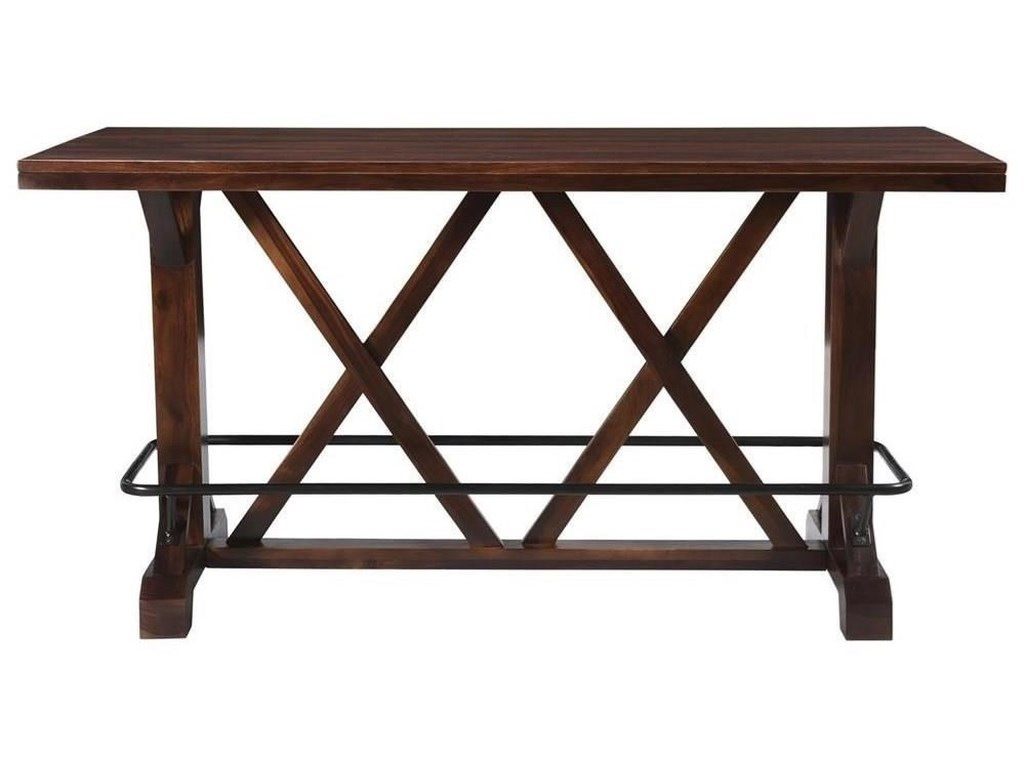 Coast to Coast Imports BraxtonPub Height Dining Table