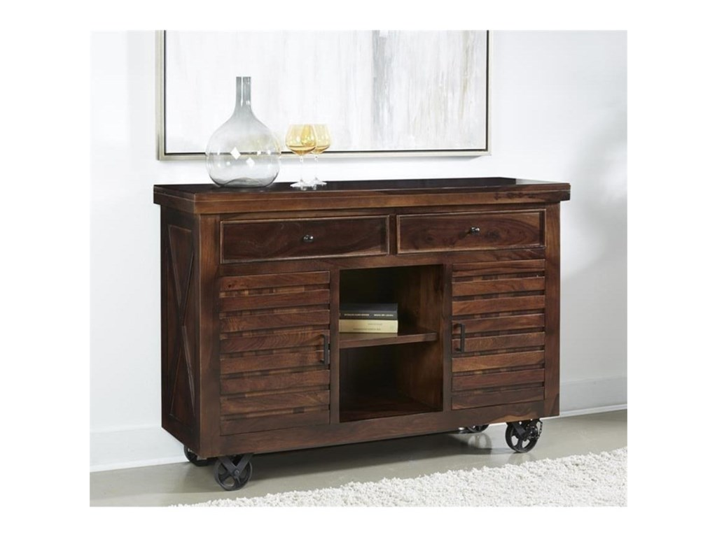 Coast to Coast Imports BraxtonTwo Drawer Two Door Sideboard