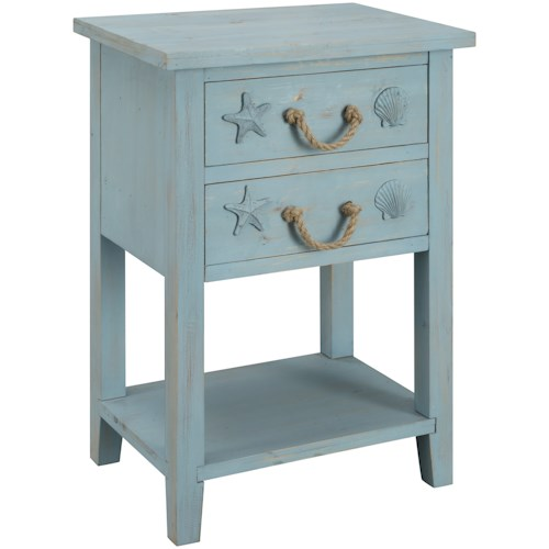 Coast to Coast Imports Breakers Two Drawer Chest