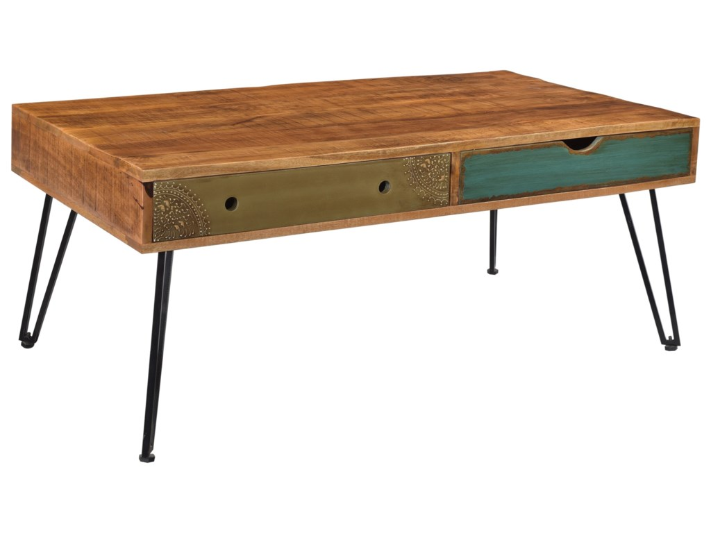 Coast to Coast Imports BrisbaneBrisbane Two Drawer Cocktail Table