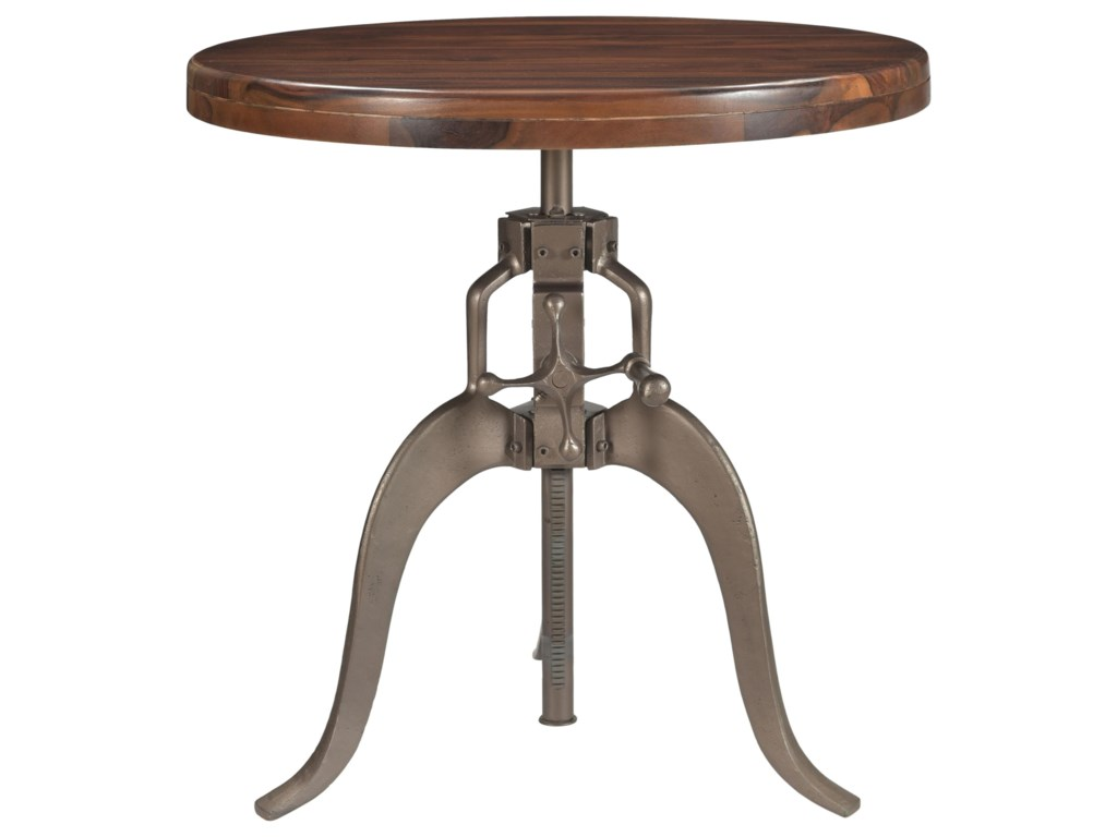 Coast to Coast Imports BristolRound Adjustable Pub Table
