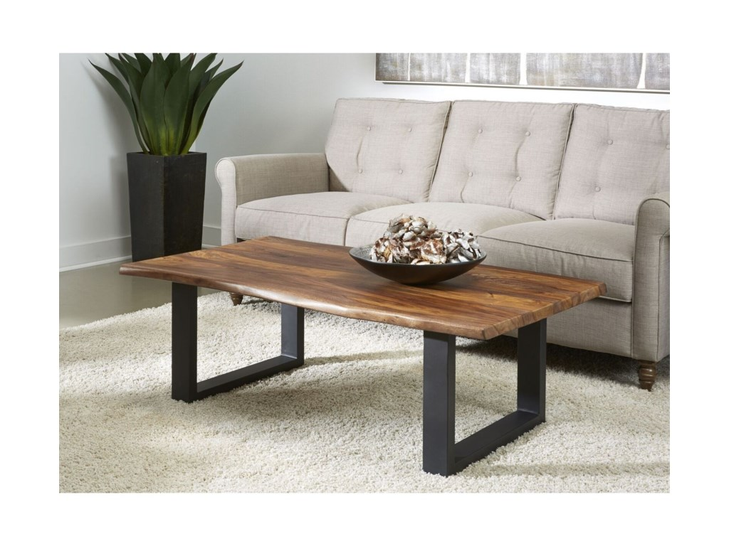 Coast to Coast Imports Brownstone IICocktail Table