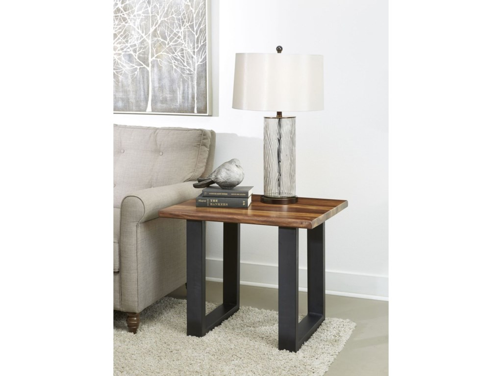Coast to Coast Imports Brownstone IIEnd Table