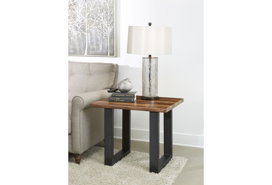 C2c Gilliam Contemporary End Table Walker S Furniture End Tables